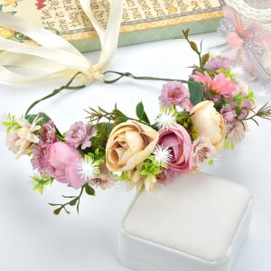 Catálogo de tocados de flores para el pelo para comprar online – Los preferidos