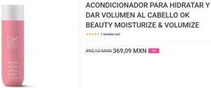 Listado de acondicionador para dar volumen cabello para comprar por Internet