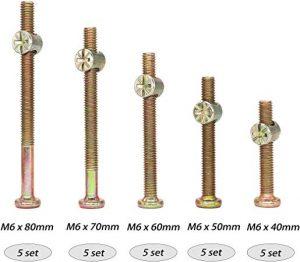 Listado de tornillos para madera medidas para comprar