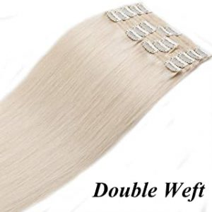 La mejor selección de extensiones clip pelo natural para comprar On-line
