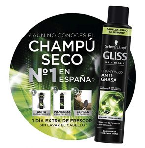 Reviews de gliss champu seco para comprar on-line – Los preferidos