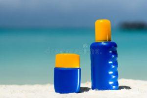 Catálogo para comprar por Internet crema solar playa