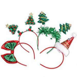 La mejor lista de diademas de navidad para comprar Online – El TOP 20