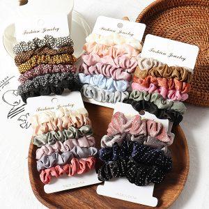 Selección de gomas elasticas pelo para comprar online