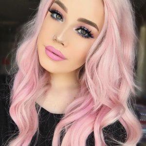 Recopilación de pelo rosa claro para comprar