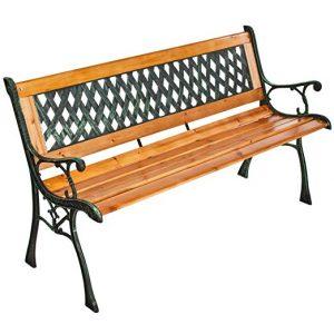 Selección de jardin madera maciza hierro fundido para comprar On-line