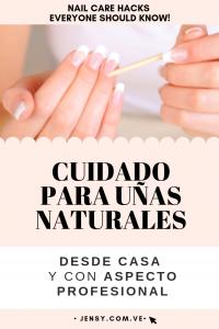 Recopilación de cuidado de uñas naturales para comprar