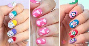 Catálogo para comprar On-line decoracion uñas sencillas