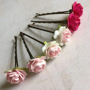 Listado de flores para el cabello para comprar en Internet
