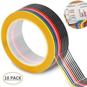 Catálogo para comprar en Internet colores cinta aislante