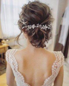 La mejor selección de apliques para el cabello de novias para comprar