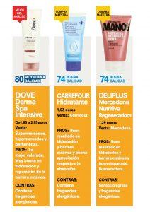 Catálogo de mejor crema de manos ocu para comprar online