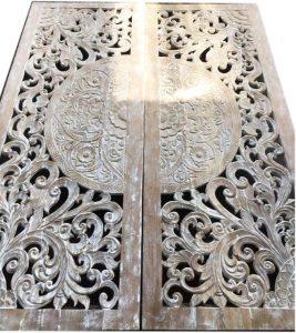 Selección de panel madera tallada para comprar