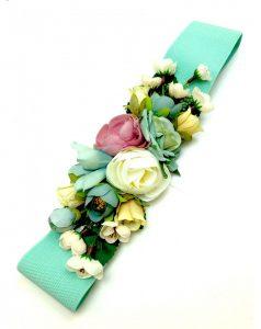 Lista de adornos de flores para vestidos de fiesta para comprar on-line
