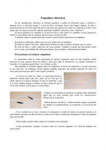 Catálogo de empalmes cables electricos cinta aislante para comprar online