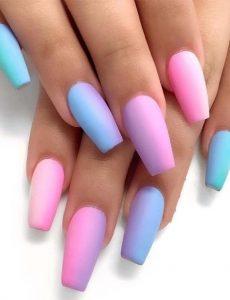 Recopilación de uñas con degradado para comprar en Internet – El Top 30