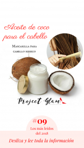 Catálogo para comprar mascarillas para humectar el cabello