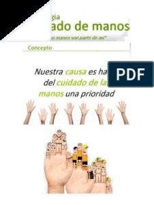 Recopilación de cuidado de las manos en pdf para comprar en Internet