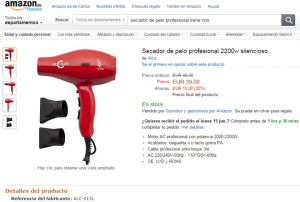 Listado de secadores de pelo profesionales antiguos para comprar