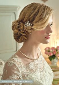 Catálogo de accesorio para el pelo de novia para comprar online