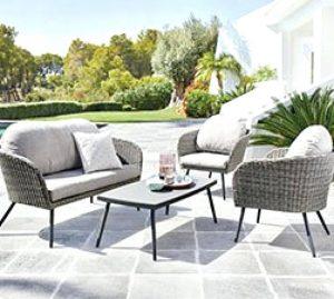 Listado de muebles exterior baratos para comprar en Internet