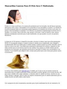 Selección de mascarillas naturales para cabello maltratado para comprar On-line