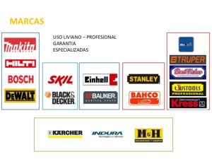 Listado de marcas de herramientas profesionales para comprar en Internet – Los Treinta más solicitado