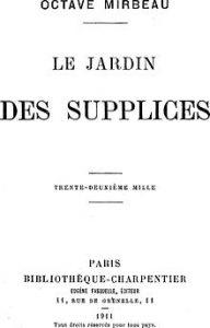 La mejor recopilación de JARDIN SUPPLICES Octave MIRBEAU para comprar en Internet – Favoritos por los clientes