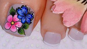 La mejor recopilación de decoracion de uñas para pies para comprar por Internet