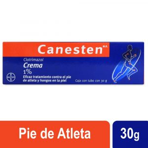 Catálogo para comprar por Internet crema de hongos de pies