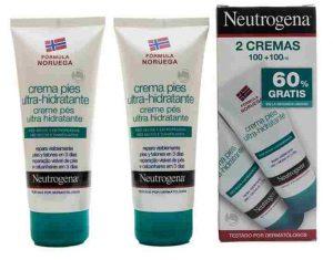 Catálogo para comprar crema de pies ultra hidratante neutrogena