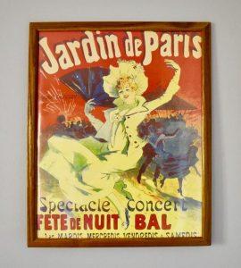 Lista de Jardin Paris Vintage Poster artist para comprar por Internet