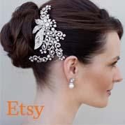 Selección de pasadores de pelo para novias para comprar en Internet
