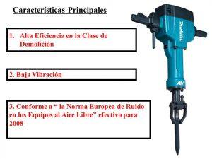 Catálogo de martillo demoledor electrico caracteristicas para comprar online
