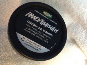crema de manos lush que puedes comprar en Internet