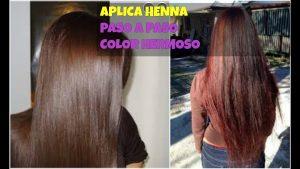 Listado de tinte de pelo con henna para comprar por Internet