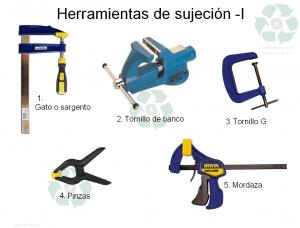 Lista de herramientas de sujecion para comprar online