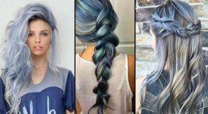 Reviews de tinte de pelo gris azulado para comprar por Internet