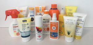 Selección de crema solar no contaminante para comprar por Internet