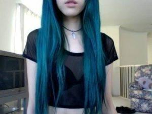 La mejor lista de chicas pelo azul para comprar online – Los 20 preferidos
