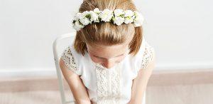 Opiniones de flores para el pelo comunion para comprar en Internet