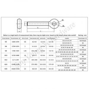 Selección de tornillo m12 para comprar por Internet