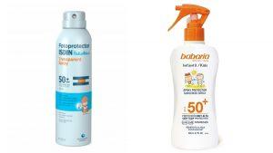 La mejor selección de spray o crema solar para comprar